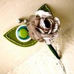 Green Rose Paper Flower and..