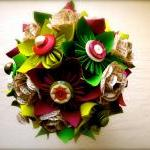 Paper Flower Wedding Bouque..