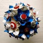 Paper Flower Bouquet, Weddi..
