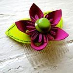 Paper Flower Hairpiece, Hea..