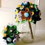 Paper Flower Bouquet, Toss ..