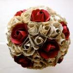 Paper Flower Bouquet, Wedd..